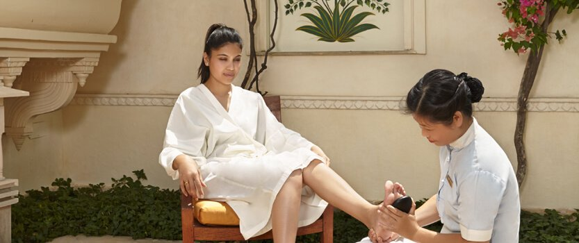 Face, Foot & Soothing Back Massages - Spa Experience Enhancers in Udaipur - The Oberoi Udaivilas