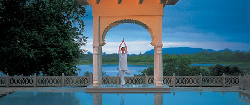 Herbal Massages, soothing Therapies & Royal Bath - Spa at The Oberoi Udaivilas, Udaipur