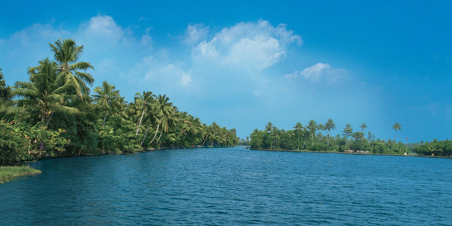 Vembanad Lake, Largest Backwater Stretch of Kerala - The Oberoi Motor Vessel Vrinda, Kerala