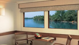 In-Room Facilities include 24-Hour Personal Butler, Electronic Safe & High Speed WiFi - The Oberoi Motor Vessel Vrinda, Kerala