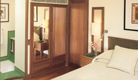 Luxurious Accommodation in Deluxe Cabins With a King-Size Bed - The Oberoi Motor Vessel Vrinda, Kerala