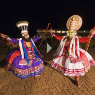 Take a 360° View of The Kathakali Dance on The Oberoi Motor Vessel Vrinda, Kerala