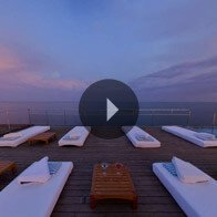 Take a 360° View of The Sun Deck at Dawn - The Oberoi Motor Vessel Vrinda, Kerala