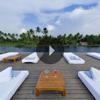 Take a 360° View of The Sun Deck at Daytime on The Oberoi Motor Vessel Vrinda, Kerala