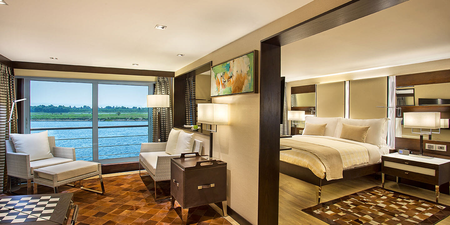 Luxury Suites With Terrace The Oberoi Philae 5 Star