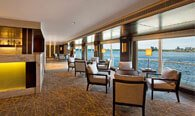 The Library & Cigar Lounge - The Oberoi Philae, Luxury Nile Cruiser