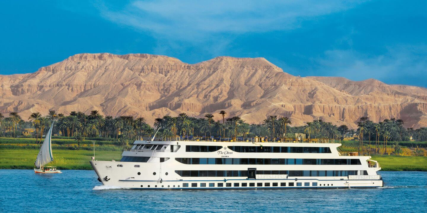 The Luxury Cruiser on the River Nile - The Oberoi Zahra, Luxury Nile Cruiser