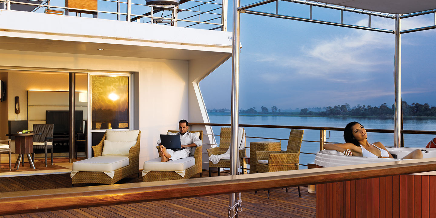 Luxury Cabins on The Oberoi Zahra, Luxury Nile Cruiser