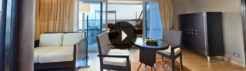 Take a 360° View of The Luxury Suites on The Oberoi Zahra, Luxury Nile Cruiser