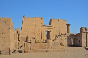 Historical City Edfu, The Site of The Ptolemaic Temple of Horus - Cruise Highlights - The Oberoi Zahra, Luxury Nile Cruiser