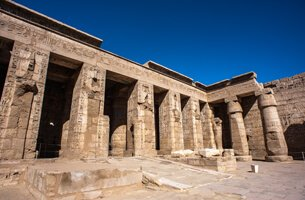 Medinet Habu - Cruise Highlights - The Oberoi Zahra, Luxury Nile Cruiser