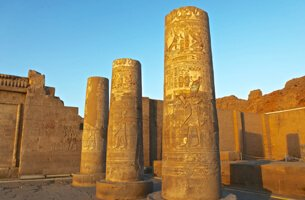Temple of Kom Ombo, Double Temple in The Egyptian Town of Kom Ombo - Cruise Highlights - The Oberoi Zahra, Luxury Nile Cruiser