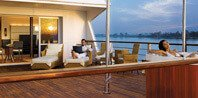 Sundeck Bathtub - The Oberoi Zahra, Luxury Nile Cruiser