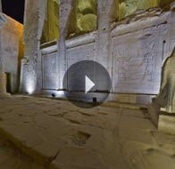 Take a 360° View of The Edfu Temple - The Oberoi Zahra, Luxury Nile Cruiser