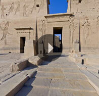 Take a 360° View of The Philae Temple of Isis - The Oberoi Zahra, Luxury Nile Cruiser