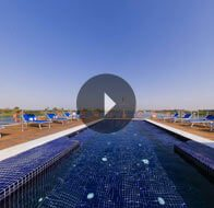 Take a 360° View of The Sun Deck on The Oberoi Zahra, Luxury Nile Cruiser
