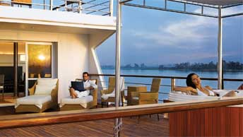 Upgrade for an Extraordinary Royal Experience - The Luxury Suites on The Oberoi Zahra, Luxury Nile Cruiser