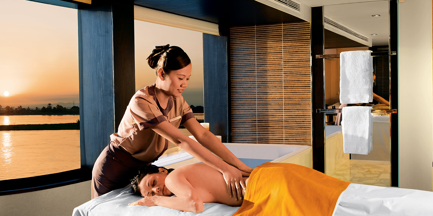 Massages & Therapies by The Luxury Spa on The Oberoi Zahra, Luxury Nile Cruiser