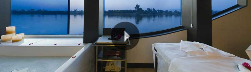Take a 360° View of The Luxury Spa on The Oberoi Zahra, Luxury Nile Cruiser